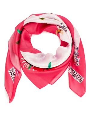 Handmade Italian silk scarf