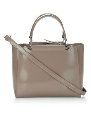 Italian leather shoulder bag