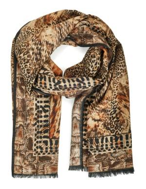 Italian wool blend scarf