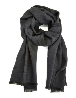 Fringed Italian scarf