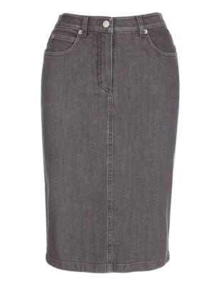 Denim M skirt
