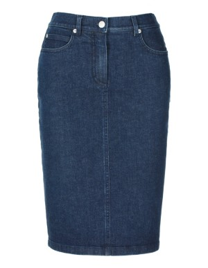 Denim M skirt