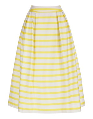 Summery striped skirt