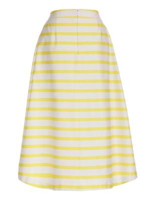 Summery striped skirt