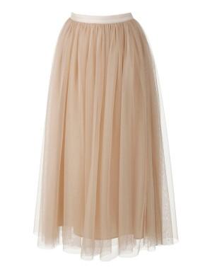 Full swing net lace skirt