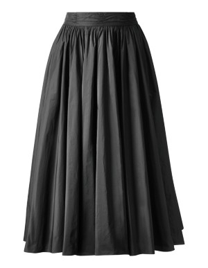 Full swing taffeta skirt