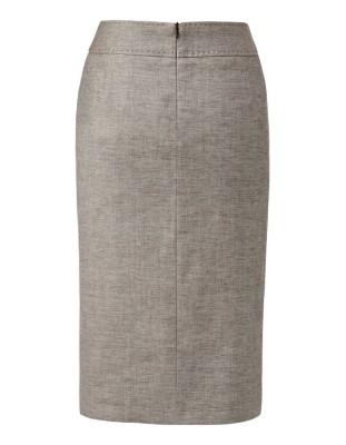Italian linen pencil skirt