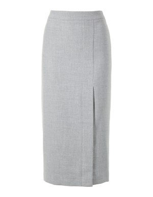 Slim tweed skirt