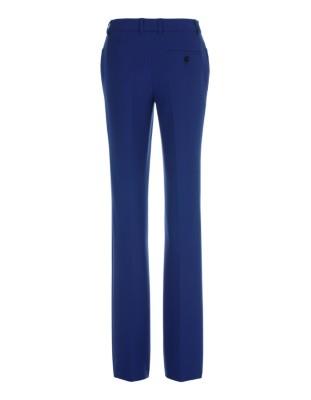 Straight-legged trousers