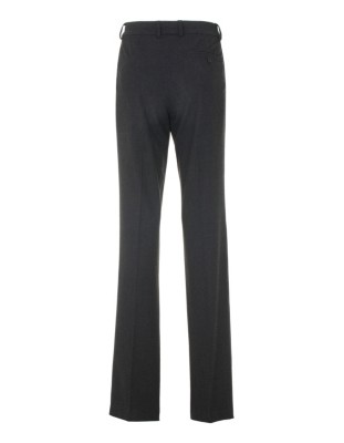 Straight-legged trousers