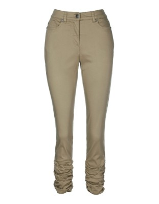 Satin twill trousers