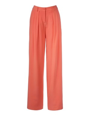 Trousers, pure silk