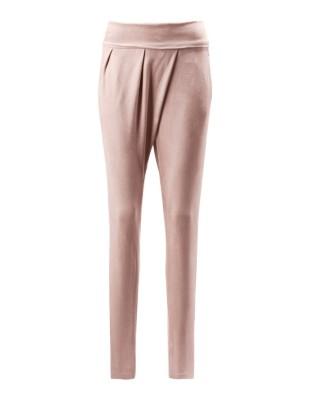 Peachskin trousers