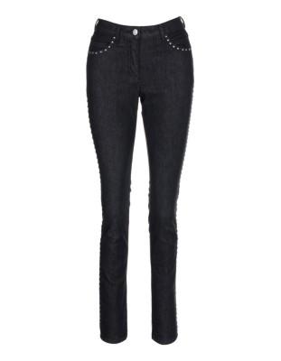 Stretch cotton jeans