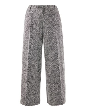 Jersey cotton trousers