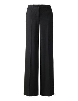 Wide, easy-travel trousers