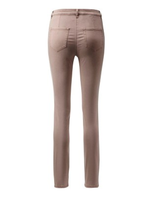 Slender 5-pocket power-stretch trousers
