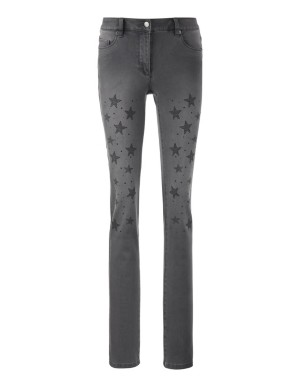 Star-decorated jeans