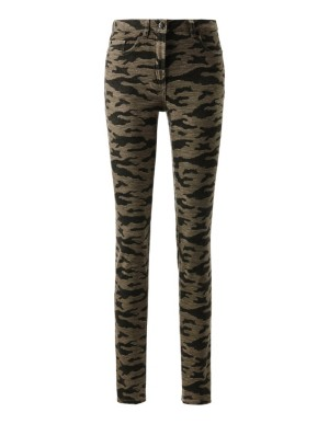 Skinny camouflage jeans