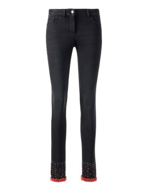 Casual, glam style jeans