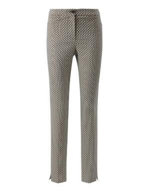 Minimal jacquard trousers