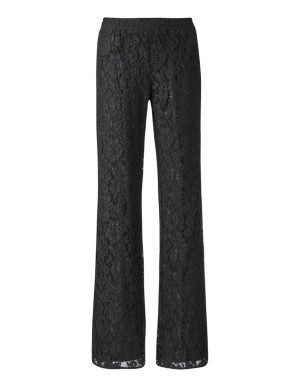 Filigree lace trousers