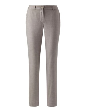 Trousers with contrasting side trim