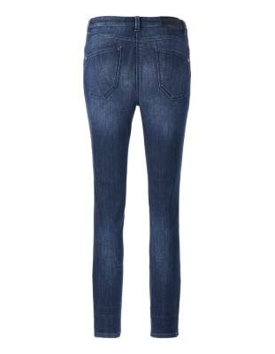 Cropped push-up jeans