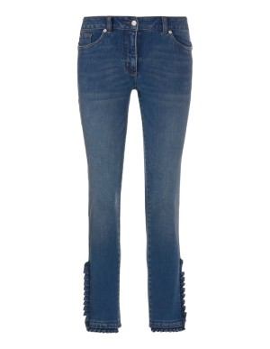 Cropped power-stretch jeans