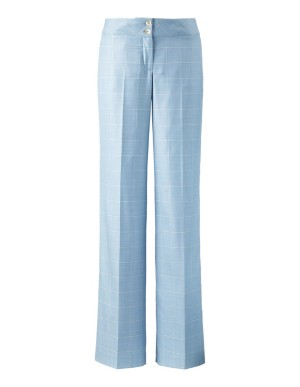 Italian check trousers
