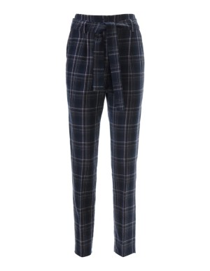Check new wool trousers
