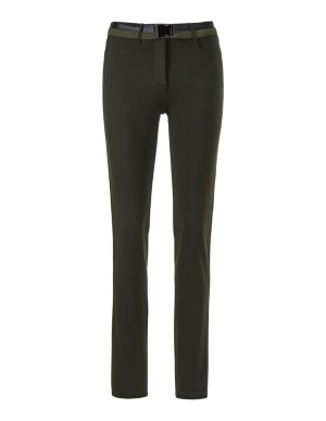 Micro-jersey trousers
