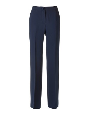 Casually wide trousers