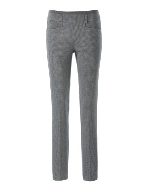 Trousers with side zip