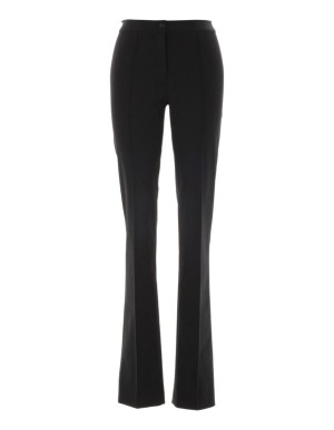 Slim-line techno-stretch trousers