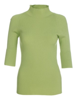 Ribbed stretch jumper