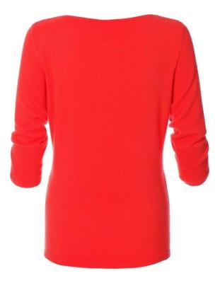 Cashmere boat neck jumper
