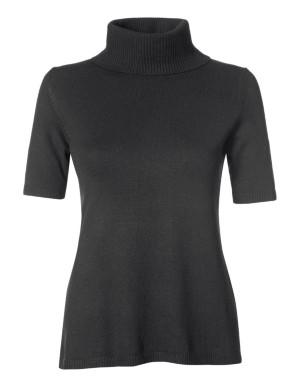 Polo neck jumper