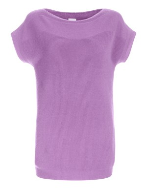 Knitted cashmere top
