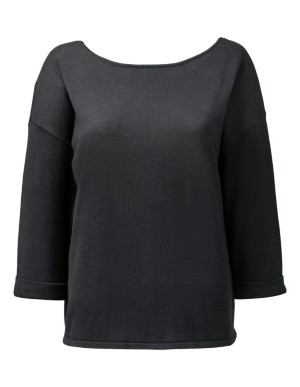 Silk-cotton blend jumper
