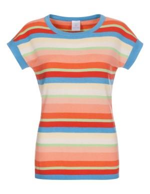 Soft striped cashmere jumper