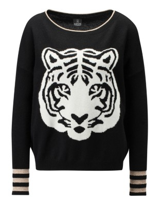 Tiger head jumper