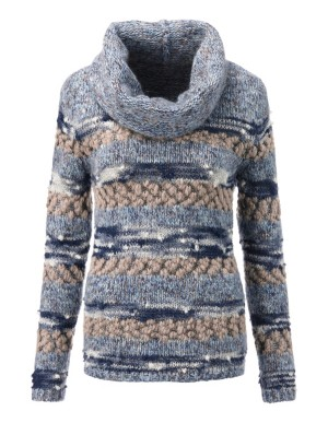 Chunky knit stripe jumper