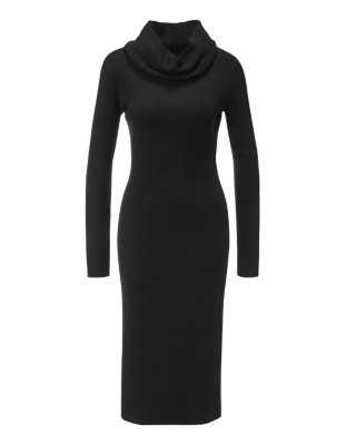 Soft, new wool knitted dress