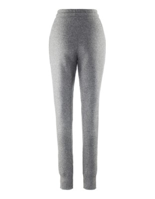 Soft Milano-knit trousers