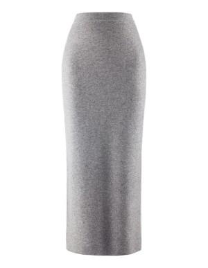 Milano-knit athleisure skirt