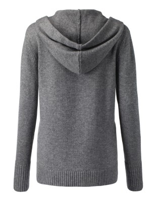 Smoothly knitted jumper