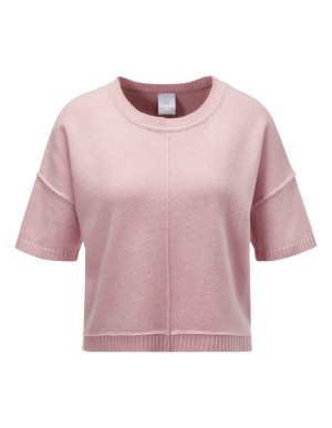 Short sleeve boxy jumper