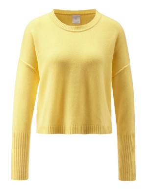 Cropped boxy jumper