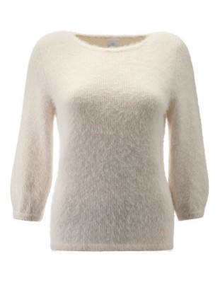 Cosy and soft mohair-look jumper